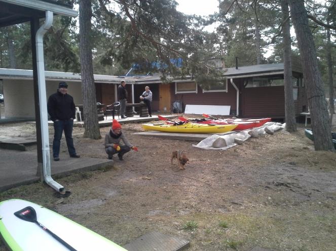 Paddlecenter.fi avasi ovensa Hangon Silversand Camping:illa vappuna!